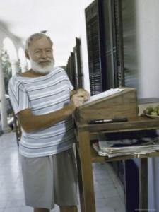 Standing Desk Ernest Hemingway