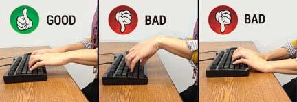 Ideal Keyboard Posture Ergonomics MultiTable Standing Desk Experts