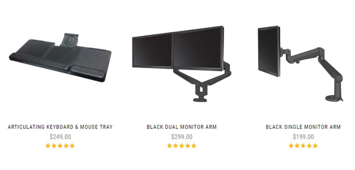 Standing Desk Ergonomic Accessories By MultiTable