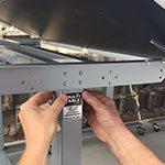 Custom Tilt Height Adjustable Standing Desk MultiTable