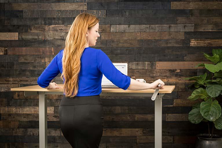 Original ModTable Best Selling Hand Crank Standing Desk