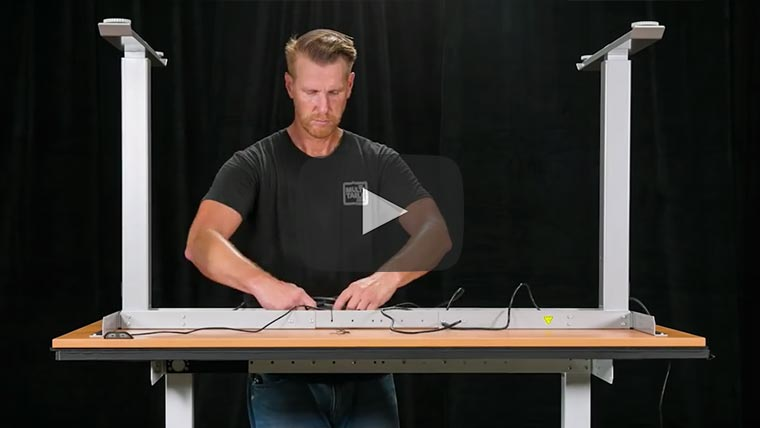 Best Electric Standing Desk Assembly Video MultiTable