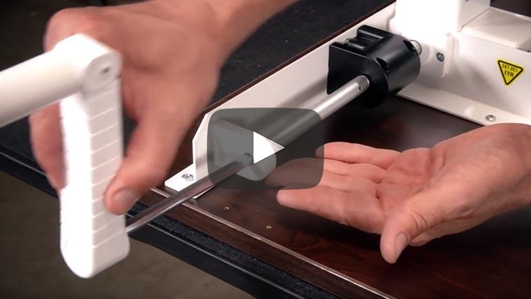 ModTable Hand Crank Standing Desk Assembly Video