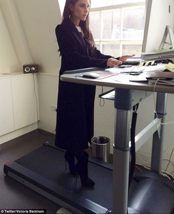 Standing Desk Women Victoria Beckham