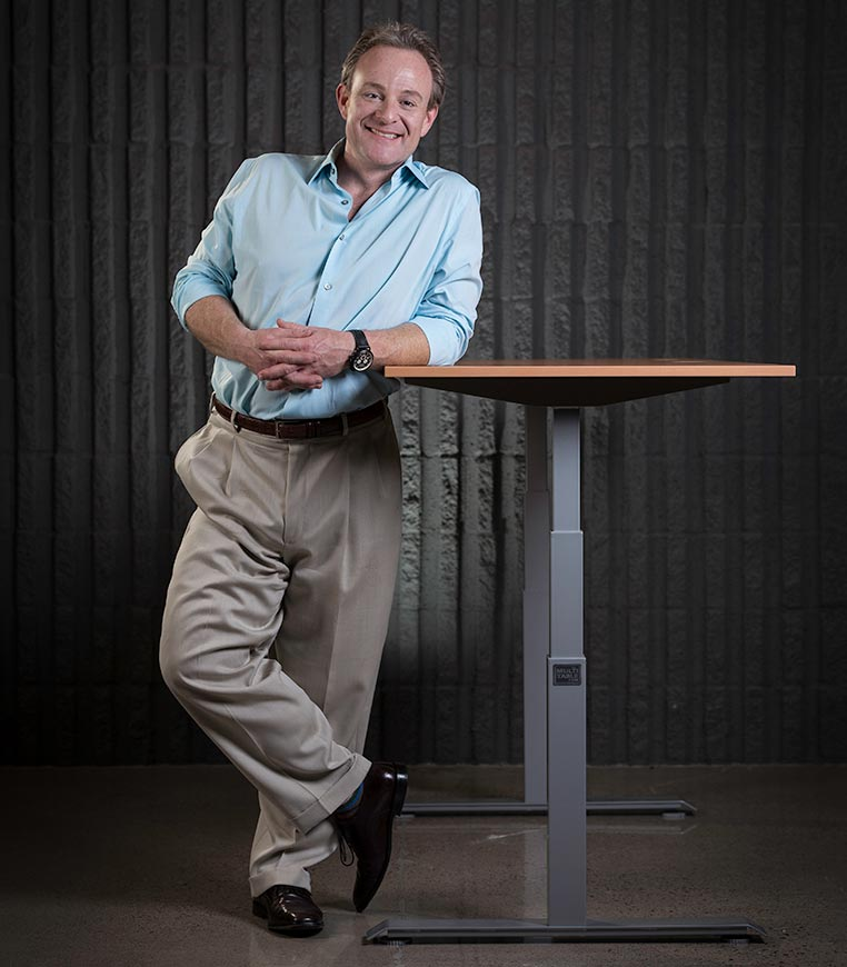 Adjustable Height Desk By MultiTable