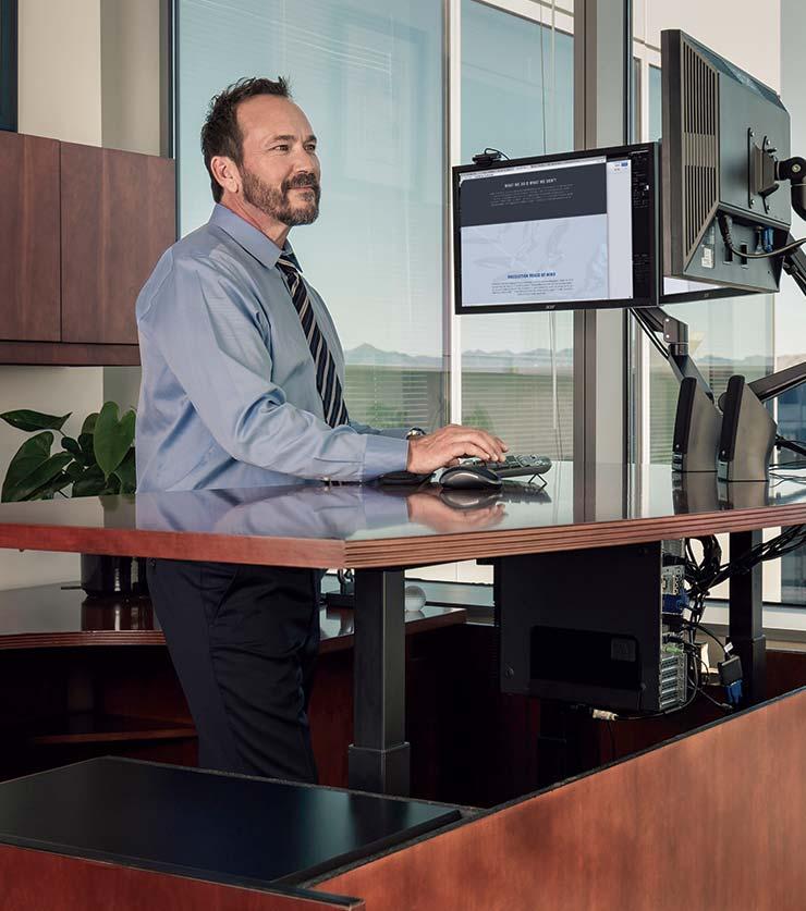 Custom Desk Conversions To Standing Desk MultiTable