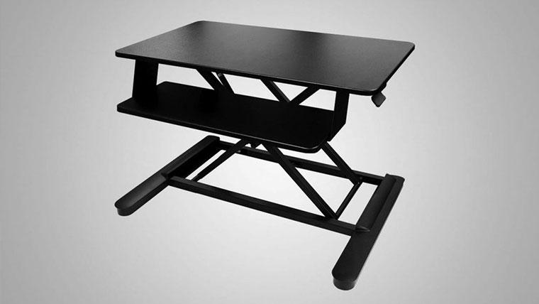 Desktop Workstation Sit Stand Desk By MultiTable Specs