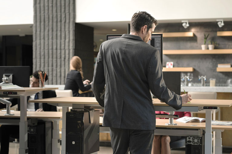 Mod E Pro Height Adjustable Standing Desk Sm MultiTable Phoenix