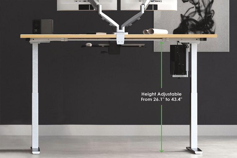 Mod E2 Height Adjustable Standing Desk Sm MultiTable Phoenix