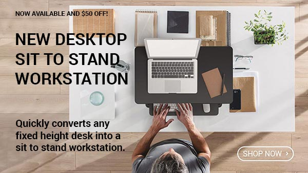New Desktop Sit To Stand Workstation By MultiTable