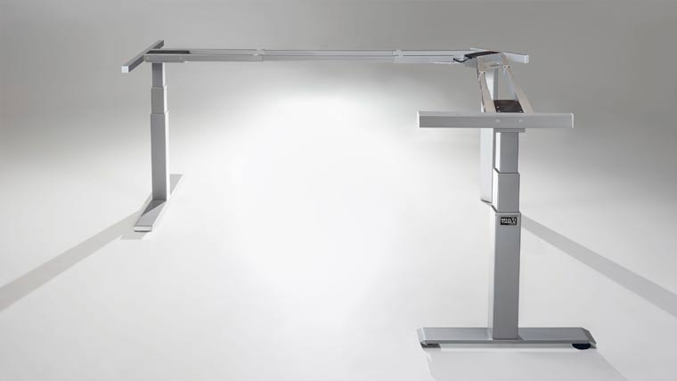 Mod E Pro L Shaped Corner Height Adjustable Standing Desk Specs